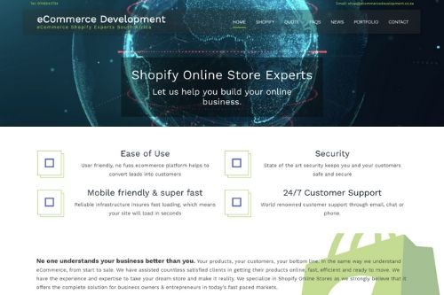 Ecommerce Development South Africa - Shopify Store Design Experts