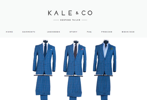 Kale & Co Bespoke Tailored Suits Cape Town